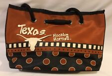 University Of Texas Longhorns Hook'em Horns Purse Handbag Orange White Black