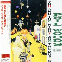 PHIL WOODS QUINTET-YOU AND THE NIGHT AND THE MUSIC-JAPAN MINI LP CD C75