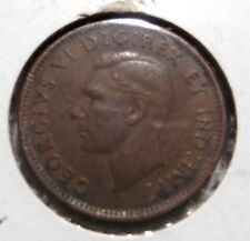 1944 Canada One Cent World Coin Circulated 489