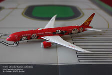 JC Wing Hainan Airlines Airlines Boeing 787 Kungfu Panda Red Diecast Model 1:400