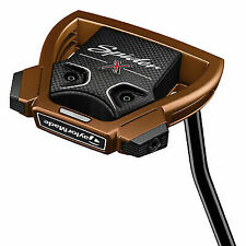 TaylorMade M2740927 Spider X Single Bend Standard Putter Golf Club - Copper/White