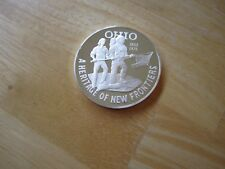 State of Ohio Sterling Silver Round A Heritage of New Frontiers 1803-1976, 38mm