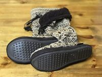 NEW With Tag MUKLUKS Women's SMALL 5-6 Tall SWEATER Slipper Boots