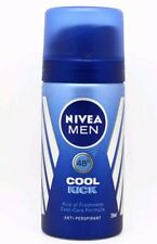 NIVEA Men Cool Kick Mini Deodorant AP 35ml Travel holliday Size
