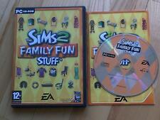 Los Sims 2 familia cosas divertidas Pack De Expansión PC CD ROM/Windows
