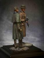 Tin soldier white metal Kit 54 mm. Sherlock Holmes and Dr. Watson 1890