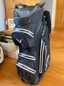Callaway hyper dry cart bag - only 1 month old