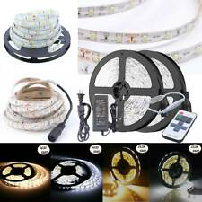 5M 10M Flexible 3528 5630 SMD Waterproof 300 LED Strip Light Remote Controller