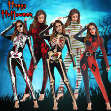 Women Halloween Costumes Clothes Festival Activities Party Long Sleeve  ❥