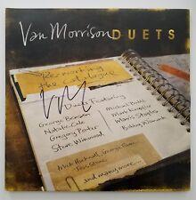 Van Morrison & Chris Farlowe Signed Duets Vinyl Record Singer Legend Rare RAD