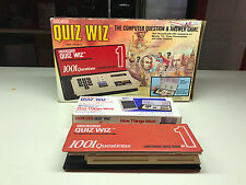 Coleco QUIZ WIZ Computer Question & Answer Toy Game Battery Operated W/Box