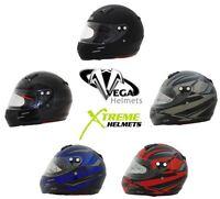 Vega KJ2 Jr Helmet Karting Full Face DOT SNELL Youth Kids Childrens S M L XL