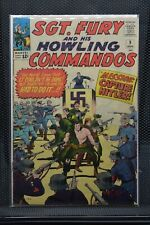 Sgt Fury and His Howling Commandos #9 Marvel Silver Age Comics 1964 Stan Lee 6.5