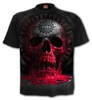 SPIRAL DIRECT BLEEDING SOUL T-Shirt/Tattoo/Skull/Cross/Metal/Blood/New/Top/Tee