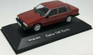 Atlas Volvo 740 Turbo - Red 1/43 Scale - MS17 Diecast Volvo Collection - T48Post