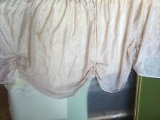 2x Gardine + 1 Überhang Vorhang 2 Schals für Grosses Fenster 330 cm