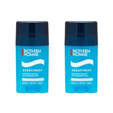 2X Biotherm Homme Aquafitness 24H* Deodorant Care 1.76oz, 50ml