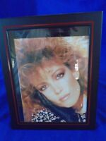 Vintage New Black and Red Picture Frame 9x11""