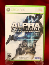 Xbox 360 - Alpha Protocol  (2010)