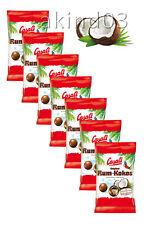7 x CASALI Original Rum-Kokos Coconut Dragées With Liquid Rum Core
