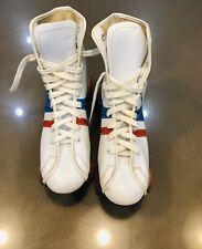 Vintage Official Roller Derby Skates Womens Sz 8 Red White Blue True Vintage!