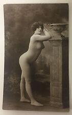 ORIGINAL FRENCH EROTIC RPPC NUDE SEXY POST CARD #8