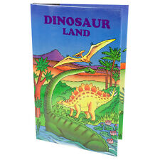 DINOSAUR LAND Personalised Childrens Story Book Gift - HARD BACK