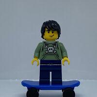 Lego Minifigure Skater col006 Series 1 Minifigure col01-6 Mini Figure
