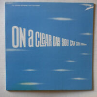 """ON A CLEAR DAY YOU CAN SEE FOREVER– ORIGINAL BROADWAY CAST – 12"""" 33 RPM VINYL LP"""