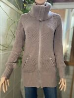 Divider By H&M Two Ways Pink Nude Sweater Turtleneck Size 4