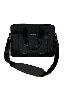 Tumi T-Tech Essential Gear Slim Laptop Briefcase Ballistic Nylon Black