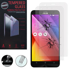 2X Safety Glass for Asus Zenfone 2 Ze550Ml Genuine Glass Screen Protector