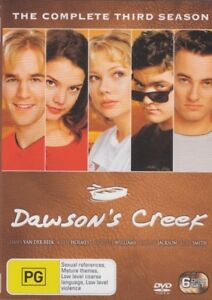 Dawson's Creek: The Complete Season 3 - Brand New DVD Region 4