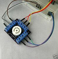 Breadboard tube socket - 9 Pin Ceramic - Great for Experiments & Prototyping