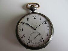 Antichi Zenith orologio da tasca Pocket Watch RARE eque póca poŝo horloĝo
