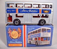 "Matchbox SF Nr.17B The Londoner ""Silver Jubilee II"" grau-braune Bodenplatte"