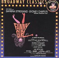 FUNNY GIRL Original Broadway Cast Recording CD BRAND NEW Barbra Streisand