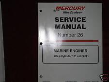 MERCRUISER DEALER SERVICE MANUAL'S-ENGINES-GM 4 CYL