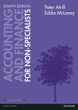 Accounting and Finance for Non-specialists with MyAccountingLab Access Card, Ver