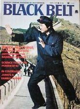 9/75 BLACK BELT MAGAZINE YUKIO NOBUCHI KI AIKIDO KARATE KUNG FU MARTIAL ARTS