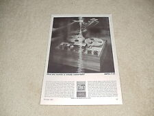 Ampex F-44 Open Reel Ad, 1 pg, 1963, Article, Info