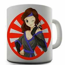 Ninja Girl Funny Design Novelty Gift Tea Coffee Office Mug