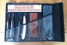 Straight Razor / Hone/ Sharpening Stone Storage Roll shaving gift (case only)~