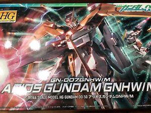 Bandai 1/144 HG Mobile Suit Gundam 00 Arios Gundam GNHW/M Japan Import Built W5