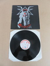 Witchfynde dar 'em Hell Rondelet Lp Raro 1989 Nwobhm Reino Unido Original 1ST presionando