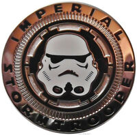 Star Wars Imperial STORMTROOPER Helmet Metal Pin