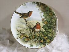 Coalport bird decor plate wtih Robin by John Gould, plate no.1 The Robin, gifts
