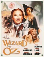 Wizard Of Oz Illustrated Movie Poster TIN SIGN Metal Vintage Home Theater