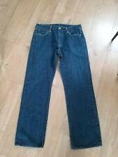 Mens Levi 501 Blue  Stright  Leg Jeans Size W34 L32 excellent condition
