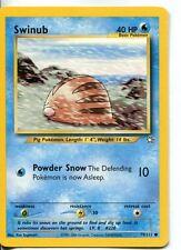 Pokemon Neo Genesis Common Card #79/111 Swinub